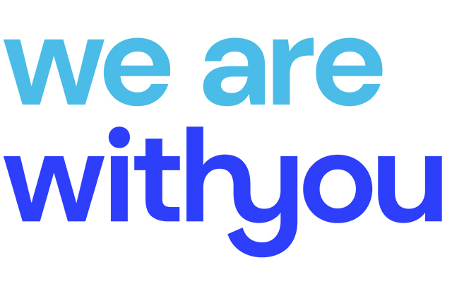 Logo We are With You organisation