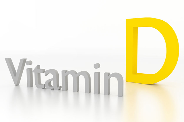 Graphic showing Vitamend D lettering